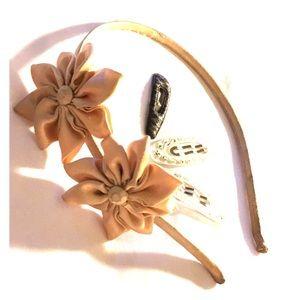 🎀FREE🎀 Headband and Barette Set